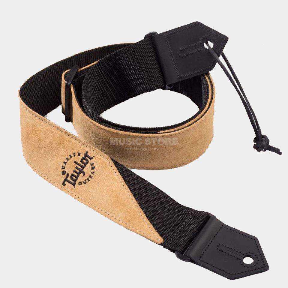 Taylor Suede/Poly Strap Tan Produktbild