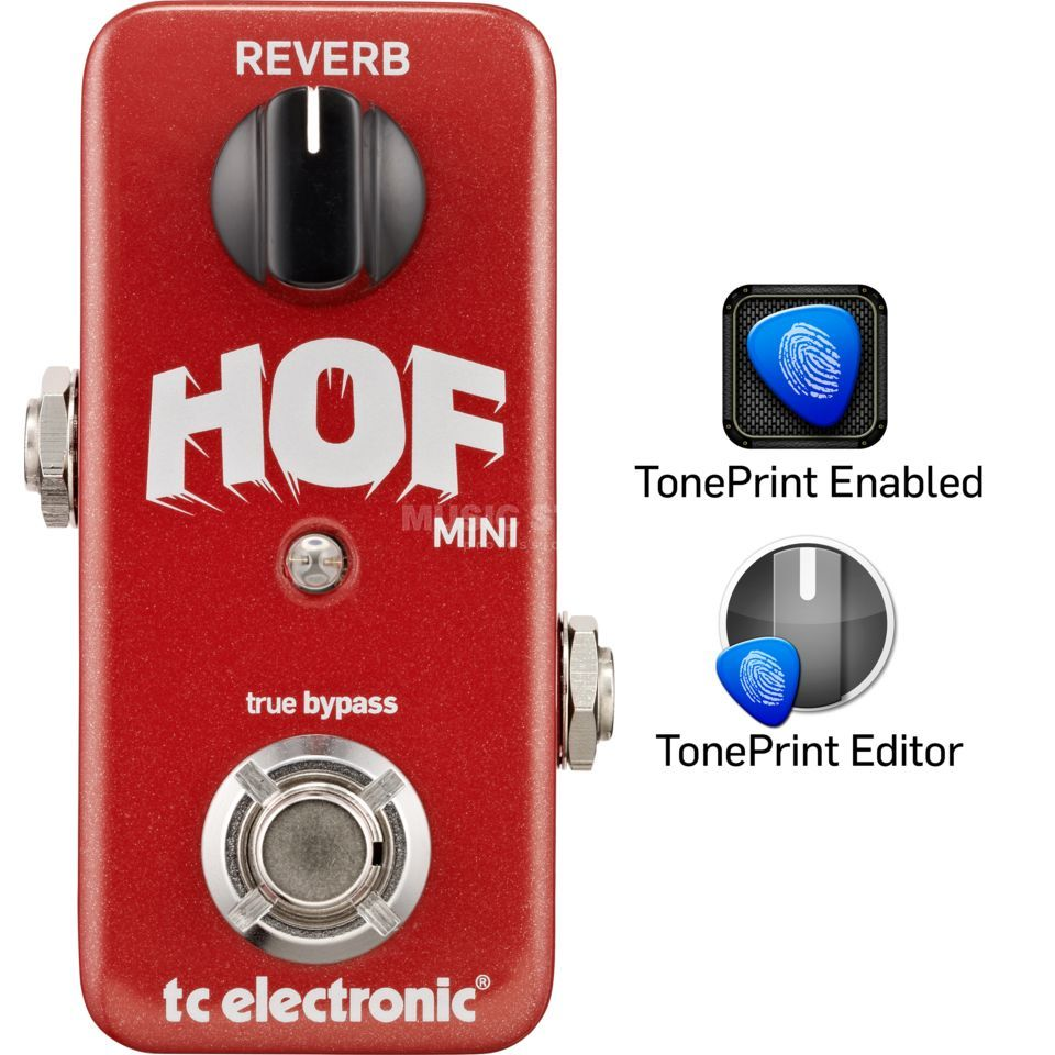 Tc Electronic Hof Hall Of Fame Mini Reverb Toneprint Enabled