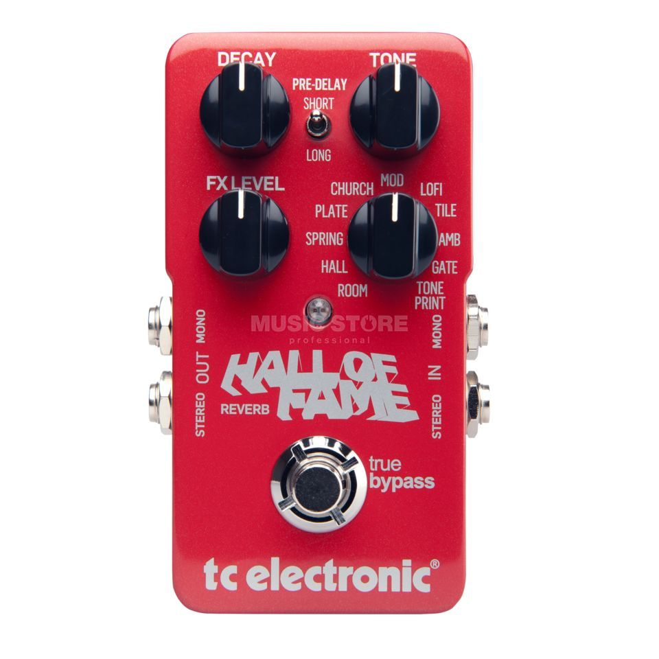 TC Electronic HOF Hall of Fame Reverb Toneprint Enabled Produktbild
