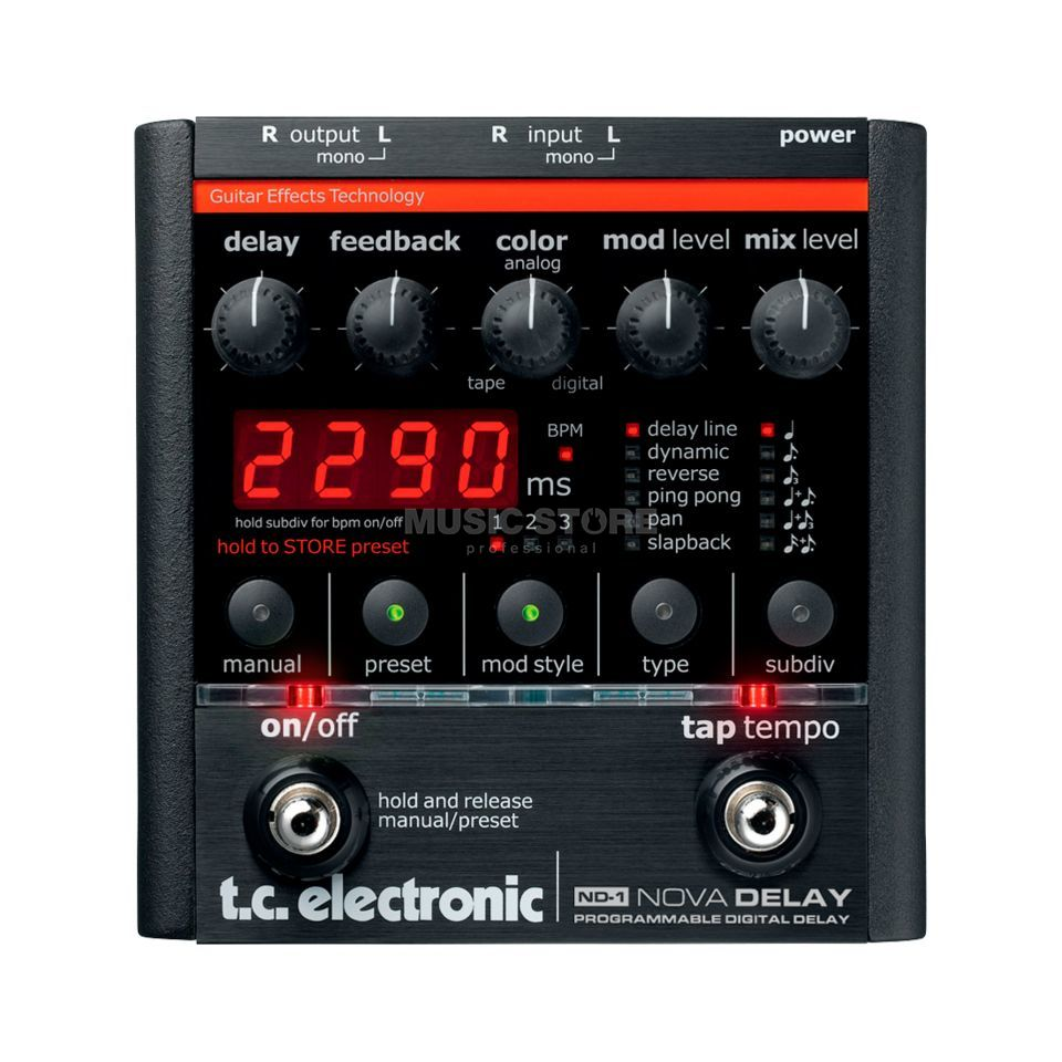 TC Electronic ND-1 Nova Delay    Изображение товара