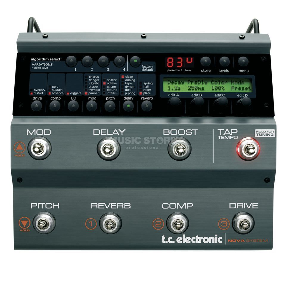 TC Electronic Nova System Guitar Effects Ped al   Product Image