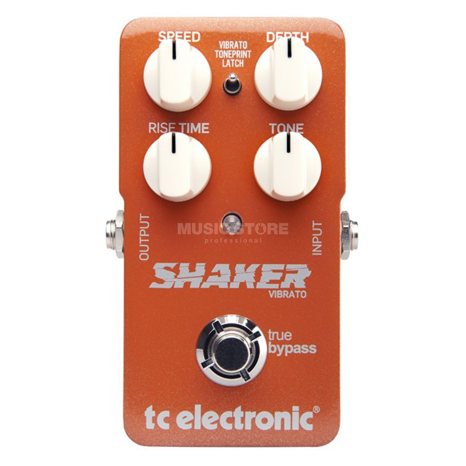 TC Electronic Shaker Vibrato Guitar Effects  Pedal   Produktbillede