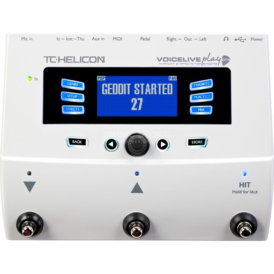 TC-Helicon VoiceLive Play GTX Harmony- & Effectspedal Product Image