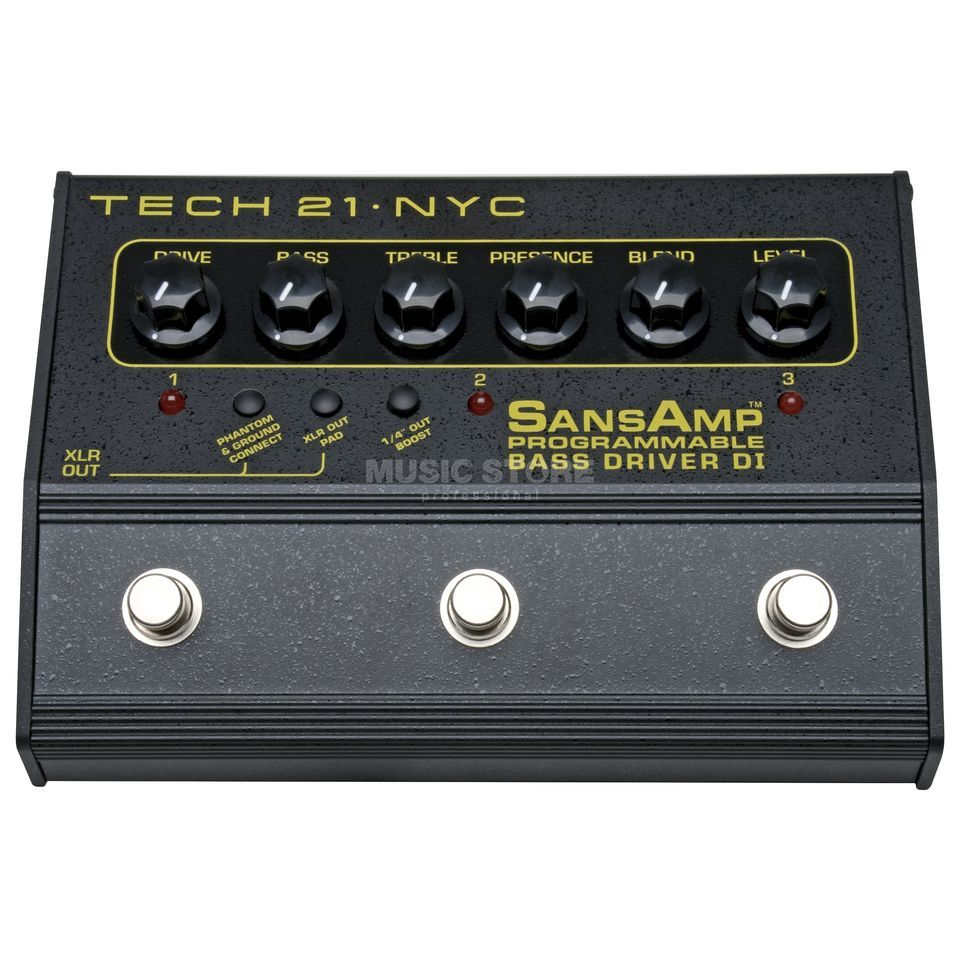 Tech 21 SansAmp Bass Driver Progammable Image du produit