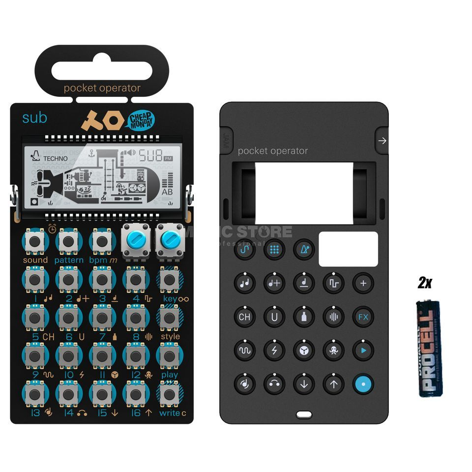 Teenage Engineering PO-14 sub Complete - Set Produktbild