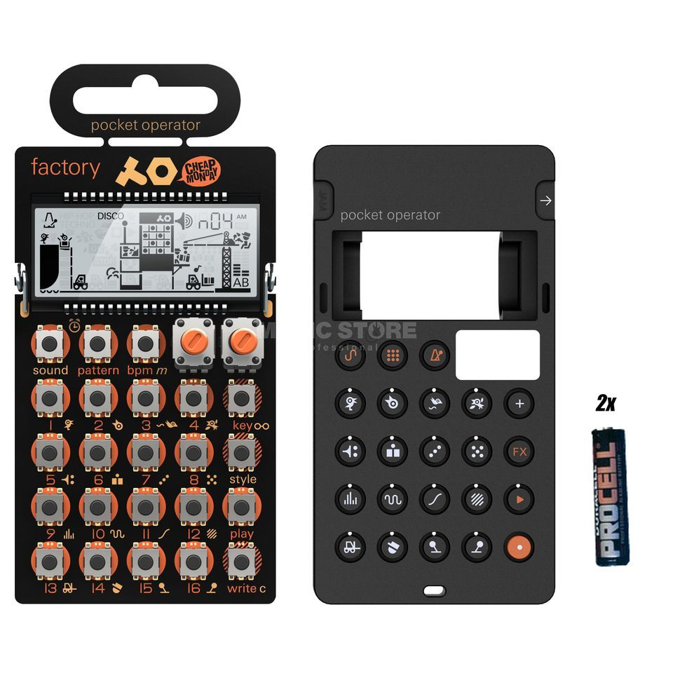 Teenage Engineering PO-16 factory Complete - Set Produktbillede