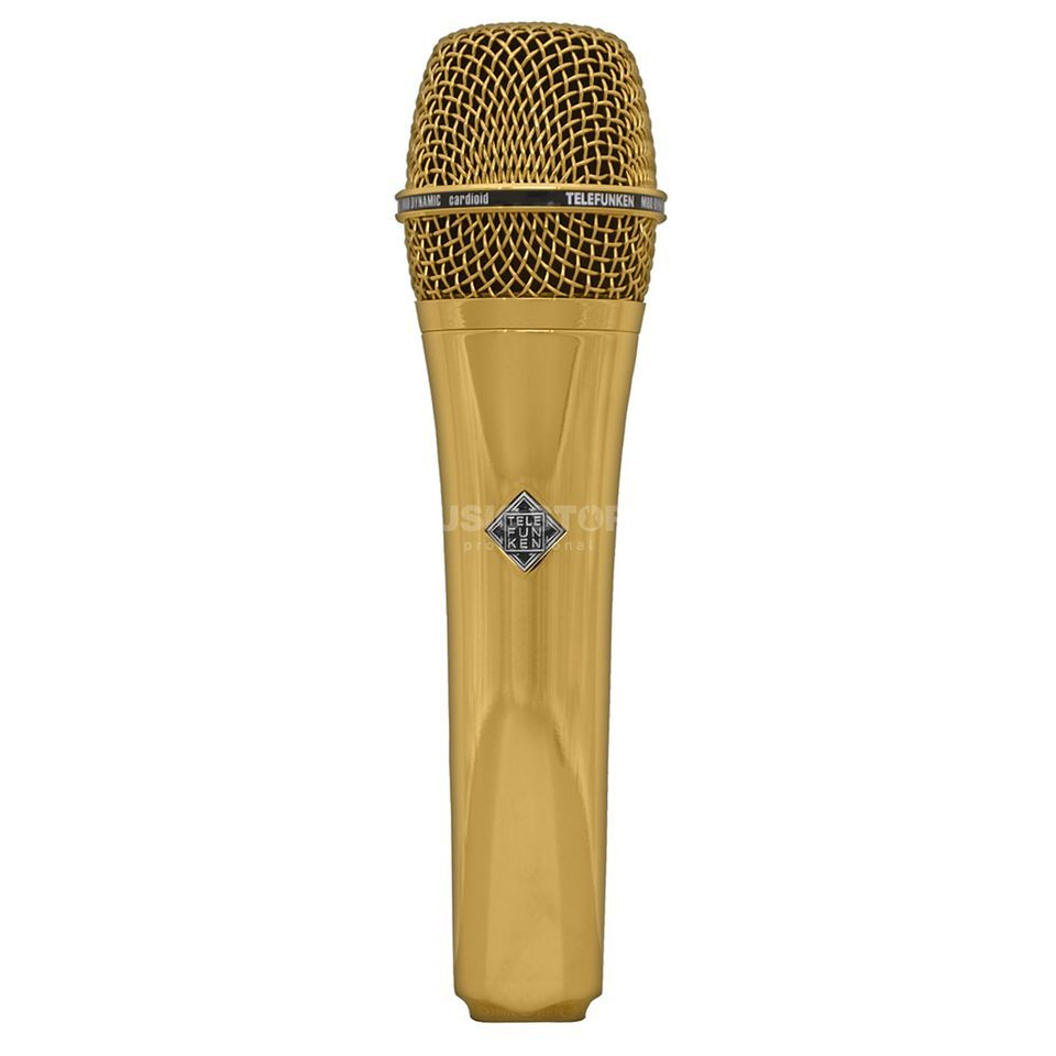 Telefunken M80 Gold Dynamic Microphone Product Image