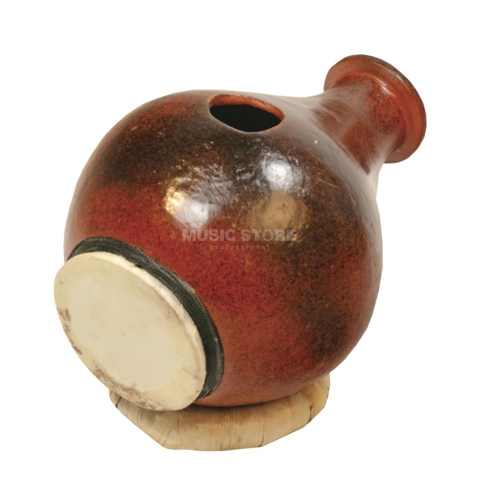 Terré Urdu Clay Drum, head on the side Produktbillede