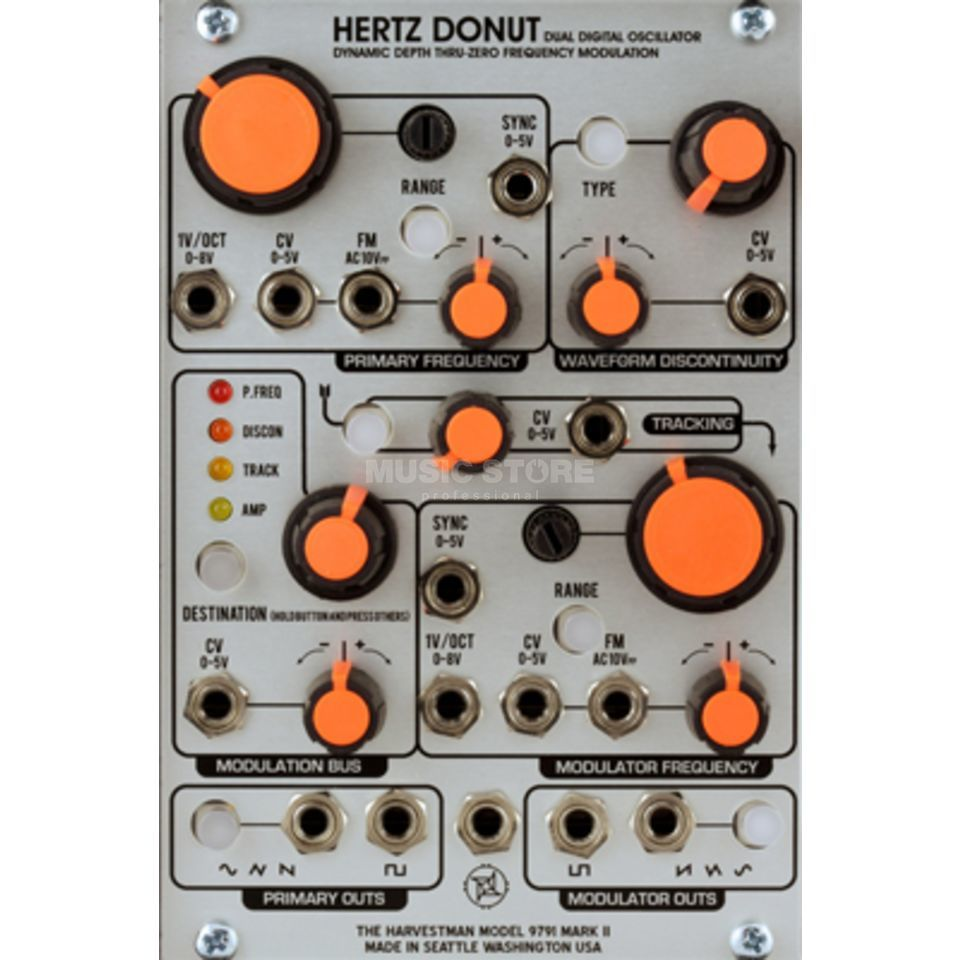 The Harvestman Hertz Donut MK2 Dual Digital Oscillator Product Image