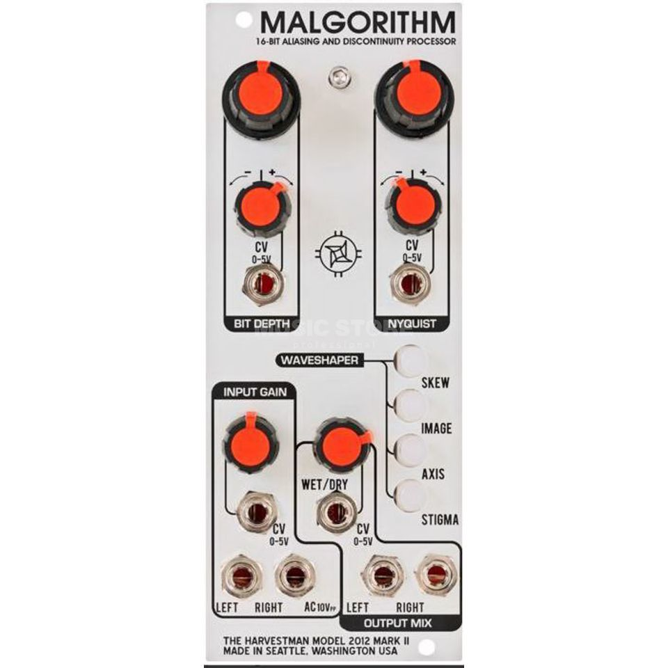 The Harvestman Malgorithm MK2 Waveshaper Product Image