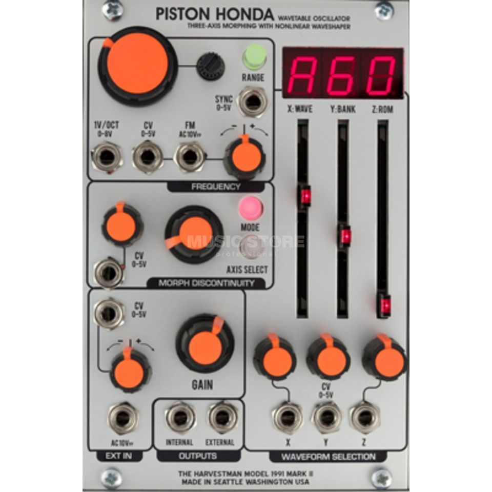 The Harvestman Piston Honda MK2 Wavetable Oscillator Produktbillede