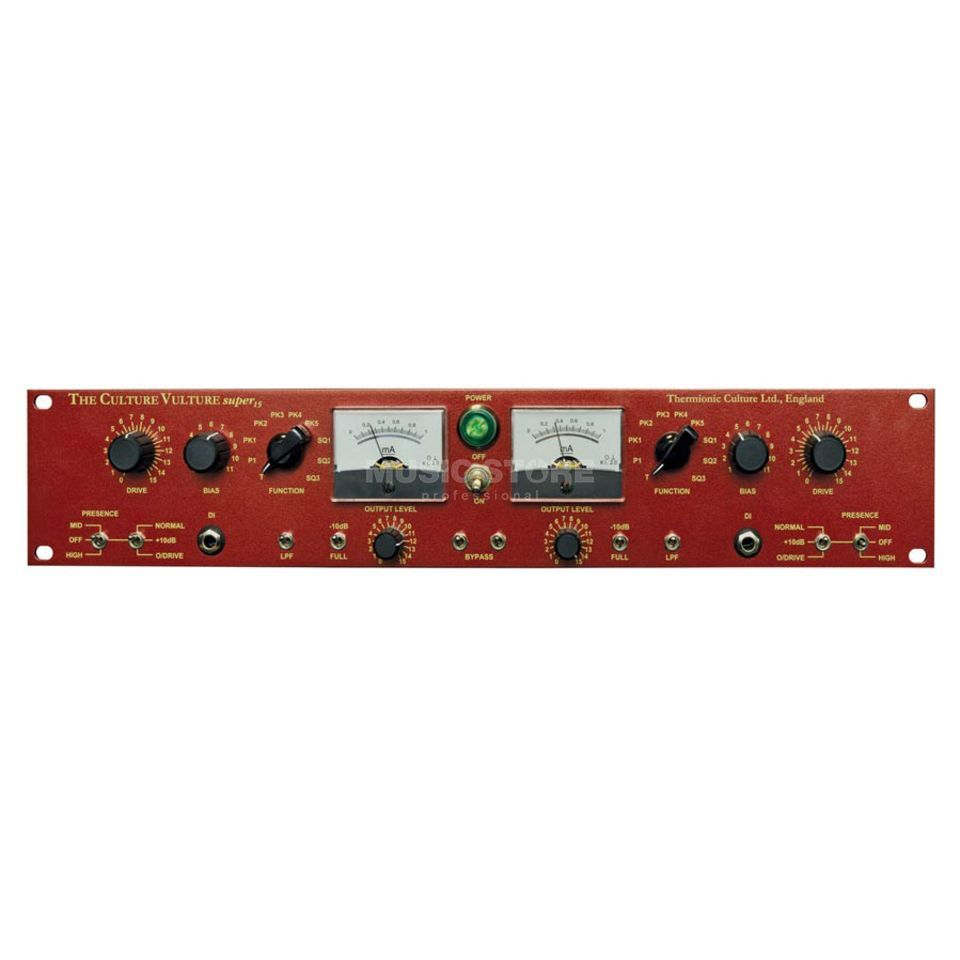 Thermionic Culture Culture Vulture Super 15 Stereo Valve Distortion Produktbillede