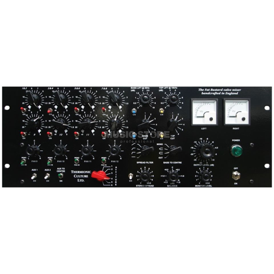 Thermionic Culture Fat Bustard MKII 14-Channel Tube Summing Produktbild