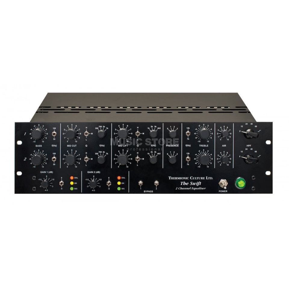 Thermionic Culture The Swift - 2-Kanal Röhren-EQ Produktbild