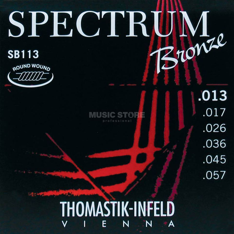 Thomastik SB 113 A-Saiten 13-57 Spectrum Bronze medium Produktbild