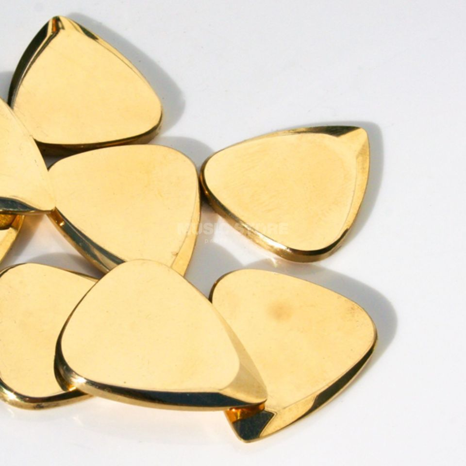 Timber Tones Metal Tones Brass Mini Picks Produktbild