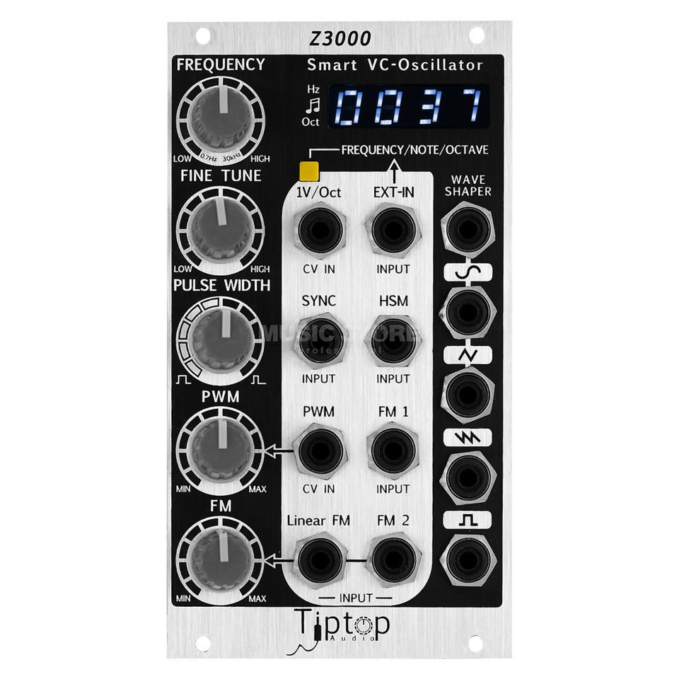 Tiptop Audio Z3000 mkII Smart VCO Produktbillede
