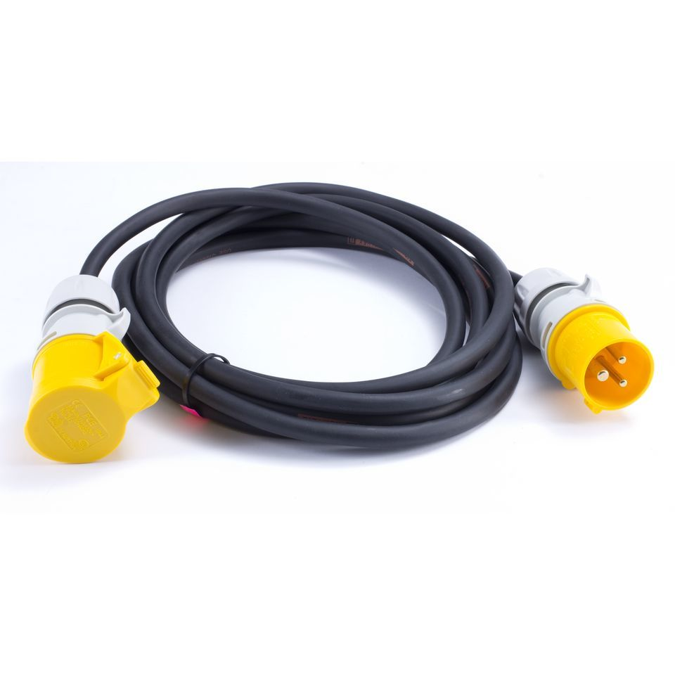 TITANEX ACL-Bar Cable 5m 3-pole CEE Yellow, 110V Produktbillede