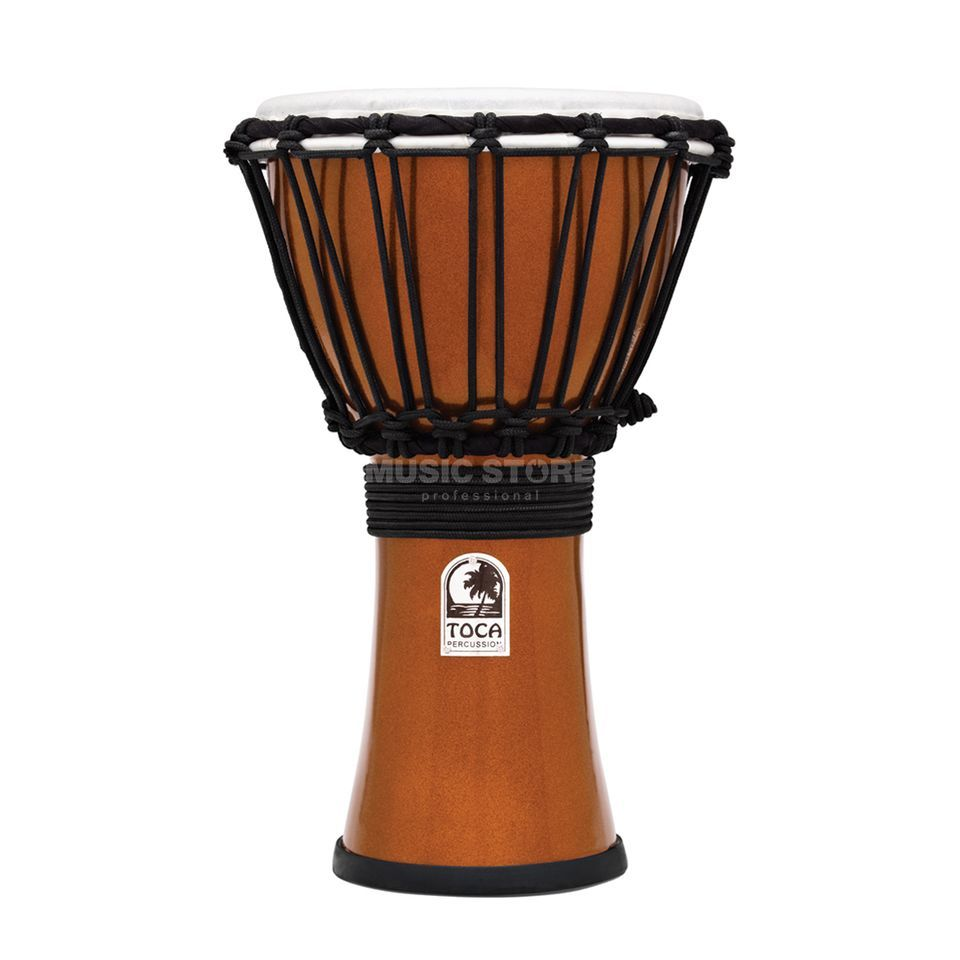 "Toca Percussion ColorSound Djembe TFCDJ-7MO, 7"", Orange Produktbillede"