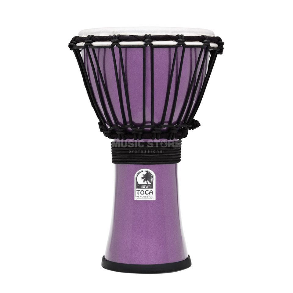 "Toca Percussion ColorSound Djembe TFCDJ-7MV, 7"", Violet Product Image"