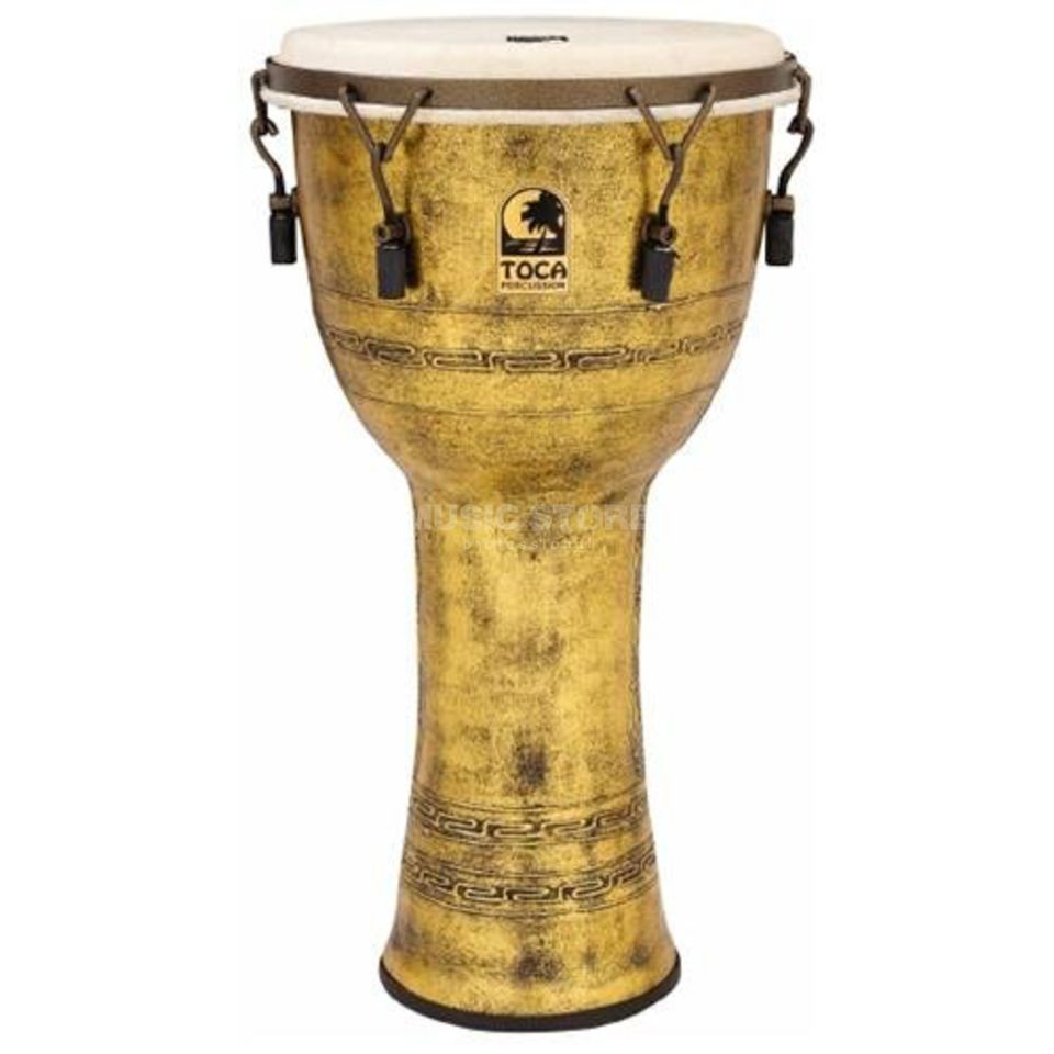 "Toca Percussion Freestyle Djembe SFDMX-14AG, Synergy, 14"", Antique Gold Produktbild"
