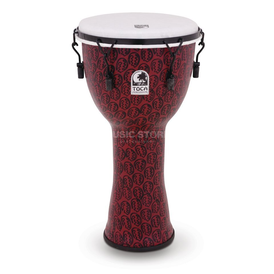 "Toca Percussion Freestyle Djembe TF2DM-10RM, 10"", Red Mask Product Image"