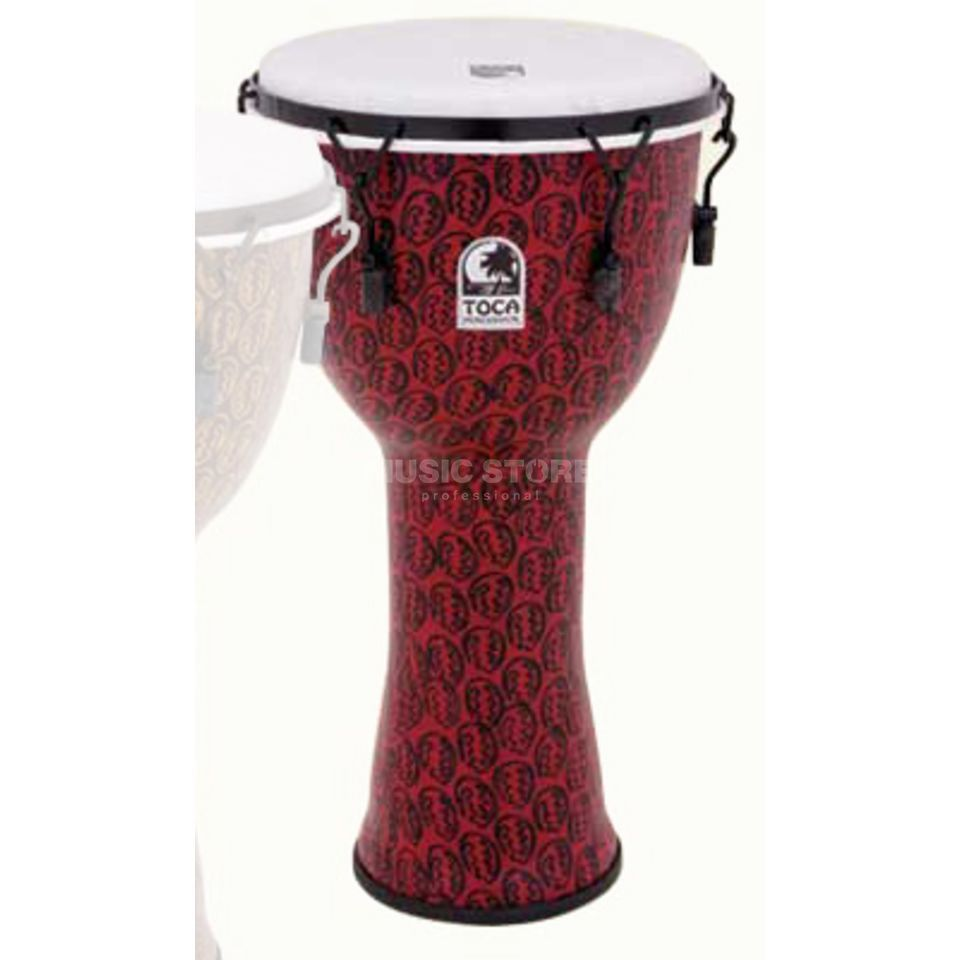 "Toca Percussion Freestyle Djembe TF2DM-12RM, 12"", Red Mask Produktbillede"