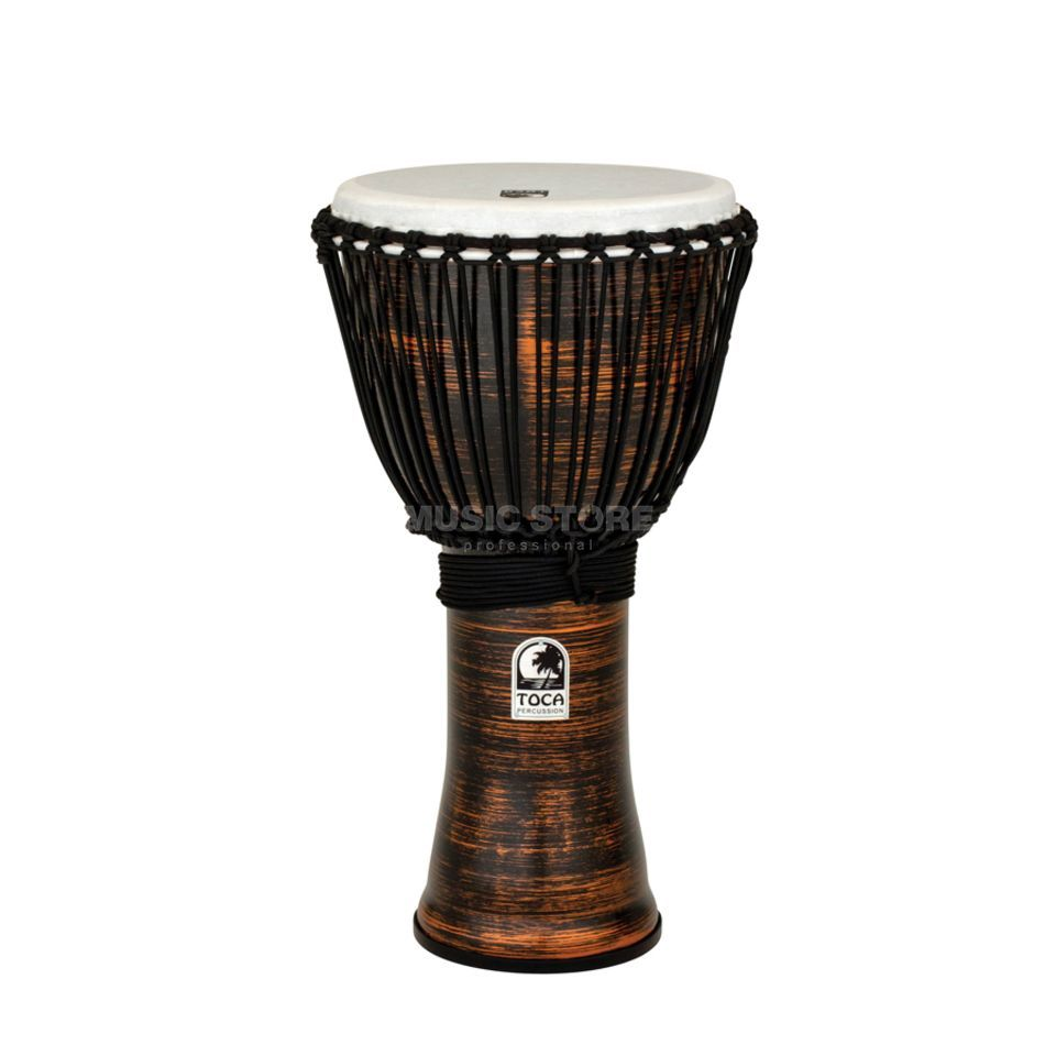 "Toca Percussion Freestyle II Djembe TF2DJ-12SC 12"", Rope, Spun Copper Produktbillede"