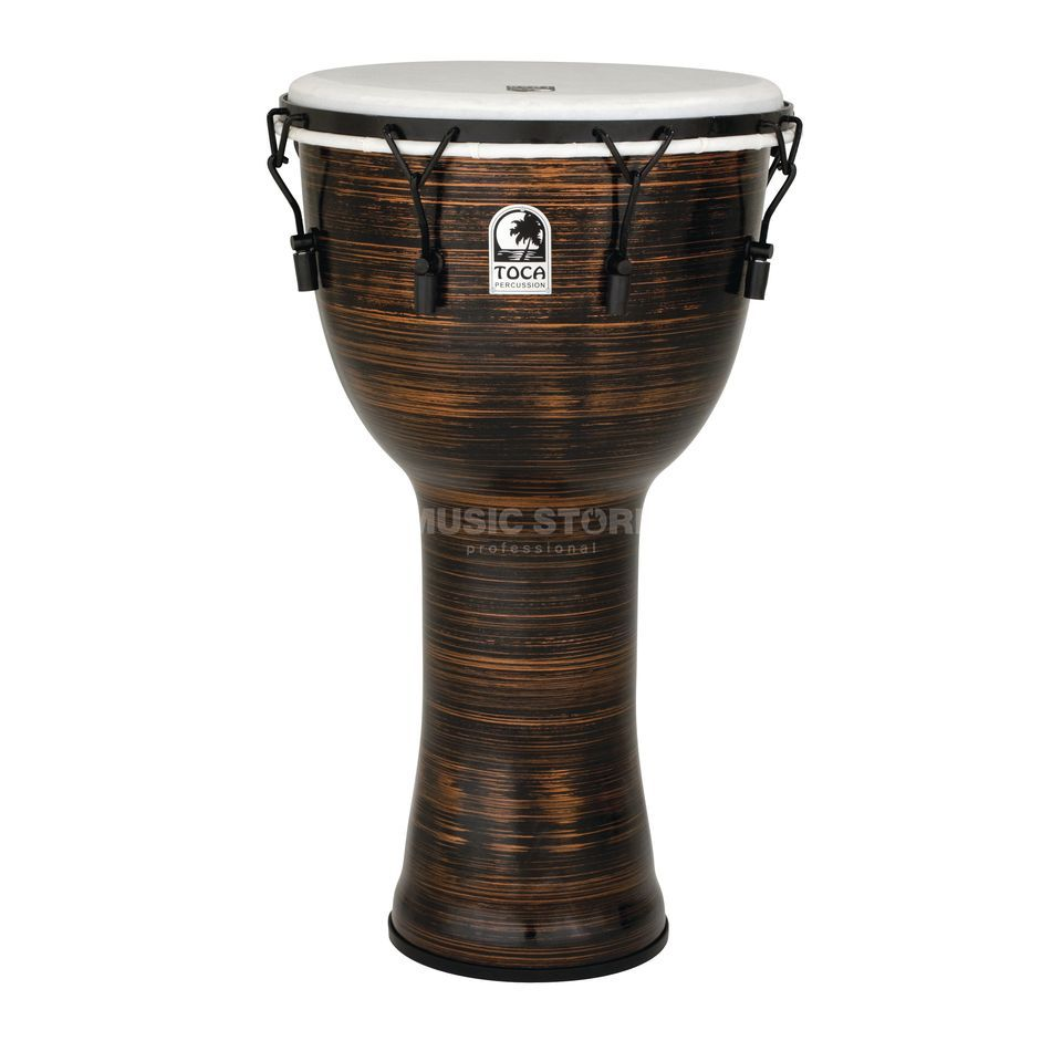 "Toca Percussion Freestyle II DjembeTF2DM-14SCB 14"", Key, Spun Copper, + Bag Produktbild"