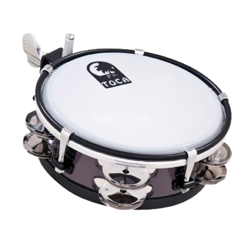 "Toca Percussion Jingle Sidekick TSKJ-6BK, 6""  Produktbillede"
