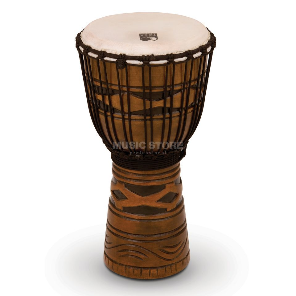 "Toca Percussion Origins Djembe TODJ-10AM, 10"", African Mask #AM Produktbillede"