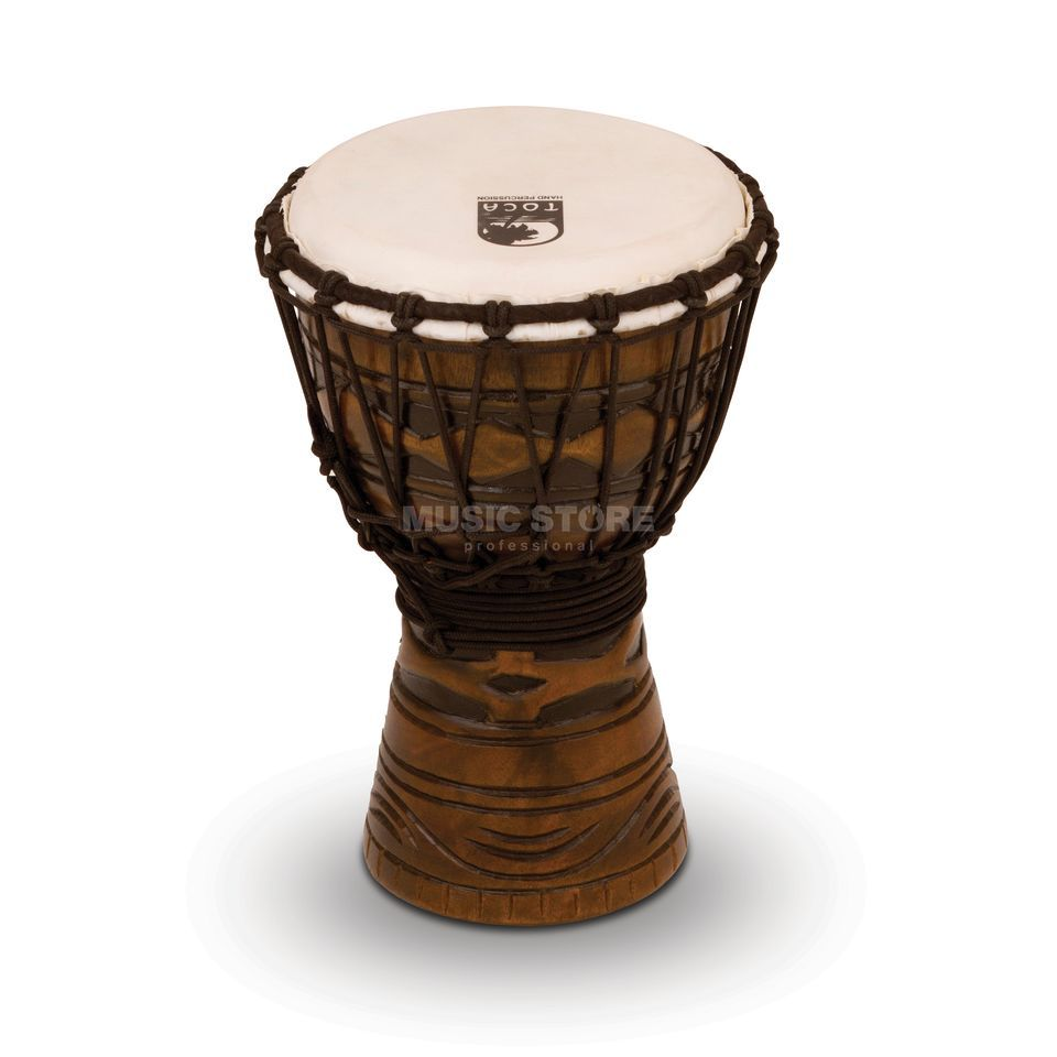 "Toca Percussion Origins Djembe TODJ-7AM, 7"", African Mask #AM Produktbild"