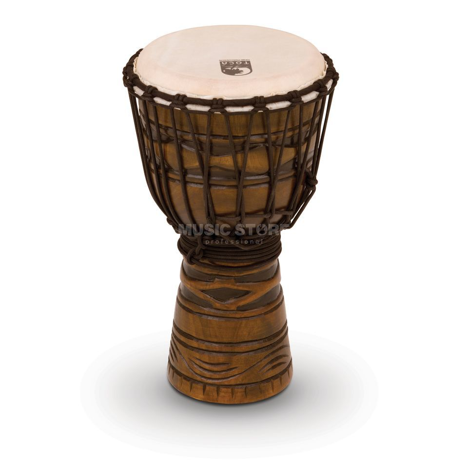 "Toca Percussion Origins Djembe TODJ-8AM, 8"", African Mask #AM Produktbillede"