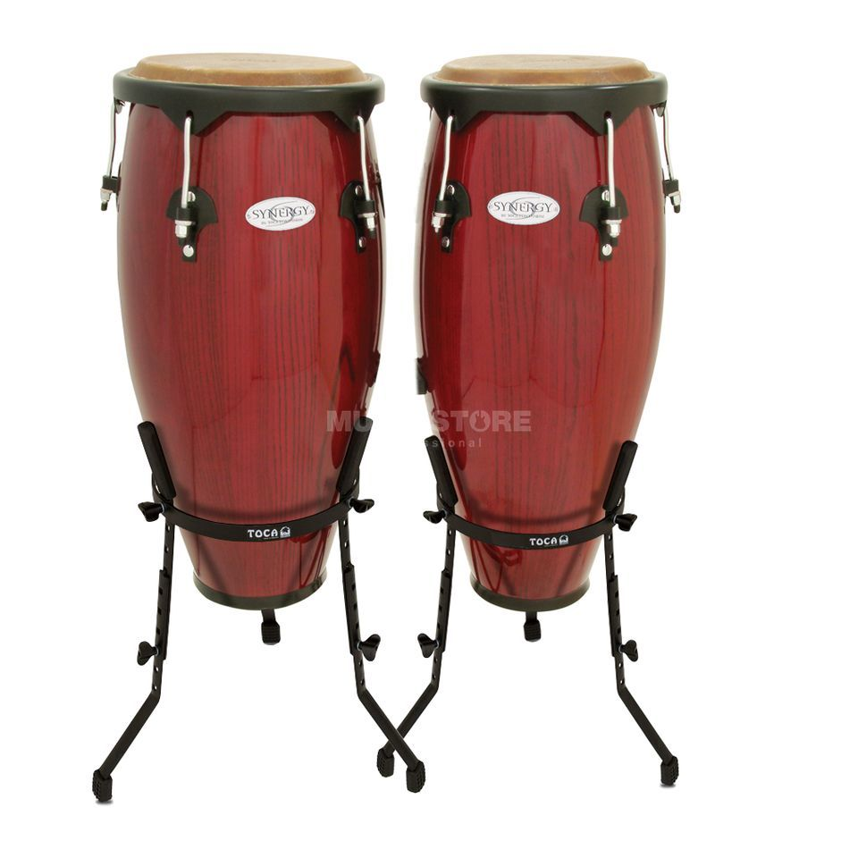 "Toca Percussion Synergy CongaSet 2300RR-B, 10"" & 11"", Rio Red Produktbild"