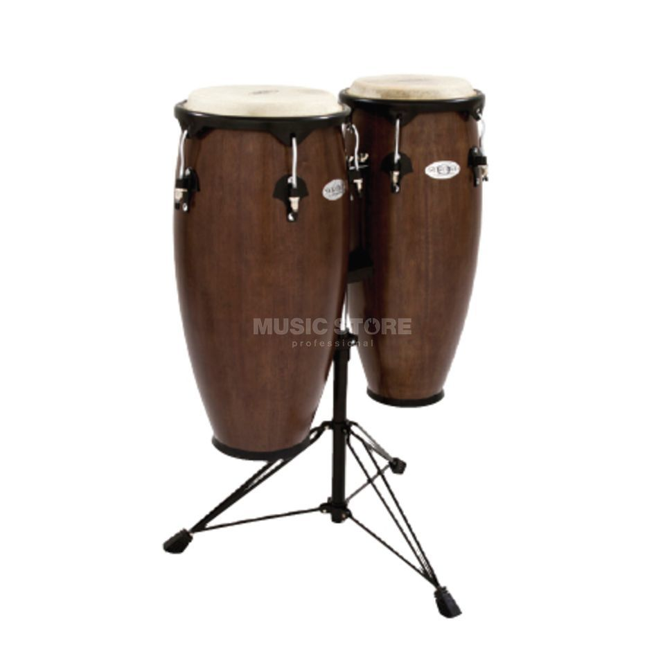 "Toca Percussion Synergy CongaSet 2300TOB, 10"" & 11"", Tobacco Produktbillede"