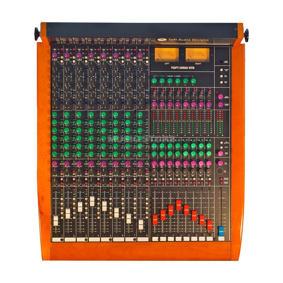 Toft Audio Design ATB 08M 8-Channel Inline-Mixer with Meter Bridge Produktbillede