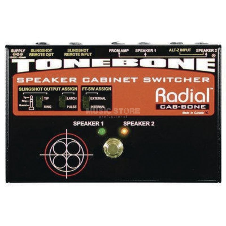 Tonebone Cabbone Speaker Cabinet Switch er   Produktbillede