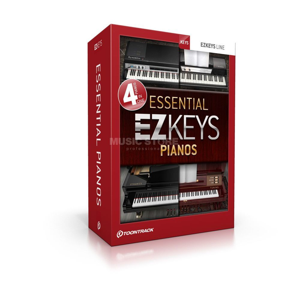 Toontrack EZ Keys Essential Pianos 4 EZ Keys Pianos Bundle Produktbild