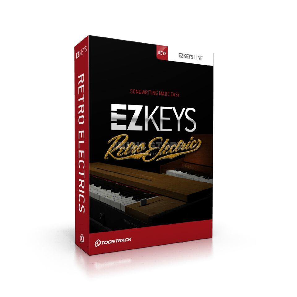 Toontrack EZ Keys Retro Electrics  Product Image