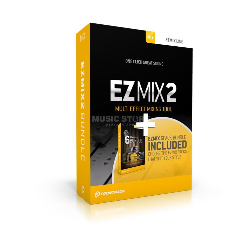Toontrack EZ MIx - 2 Bundle incl. 6 Packs  Produktbillede