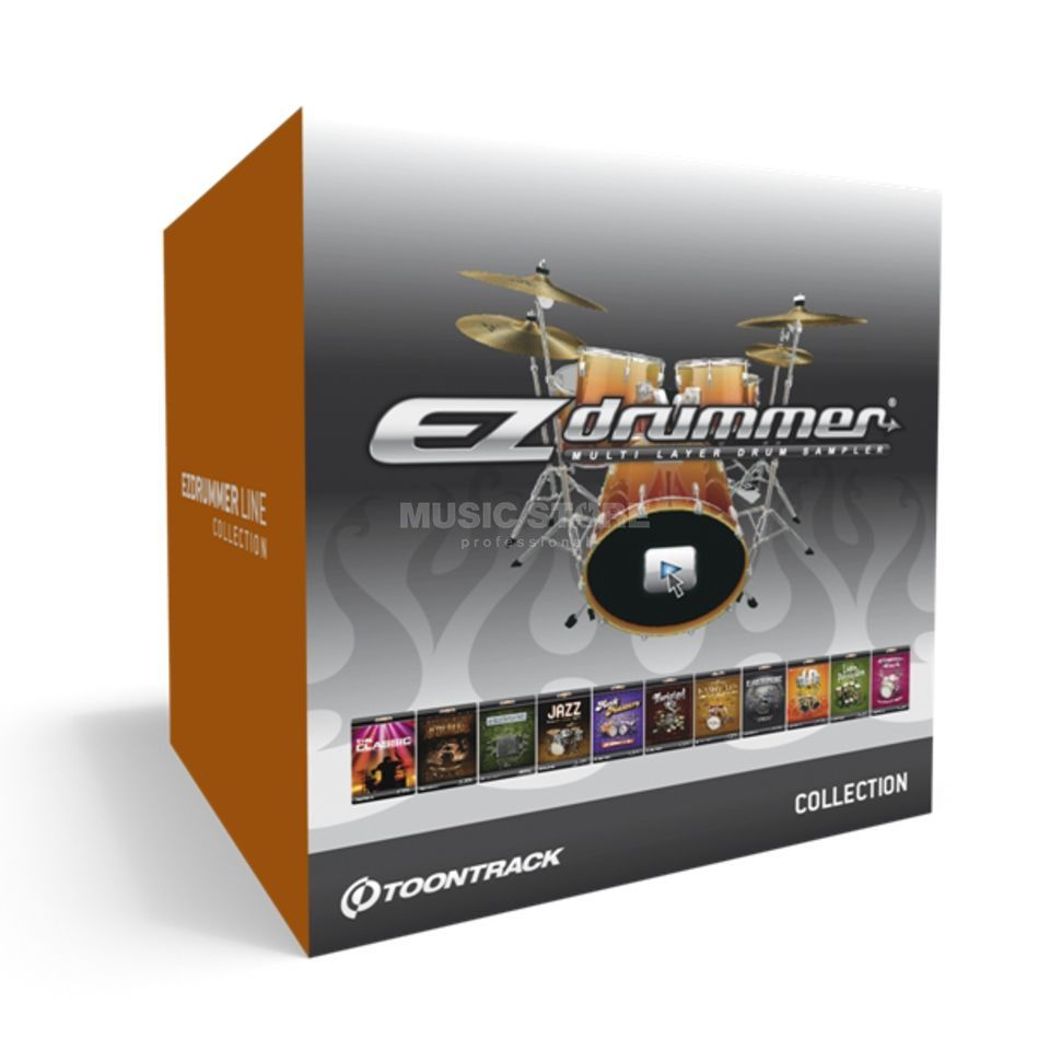 Toontrack EZdrummer Line Collection    Product Image
