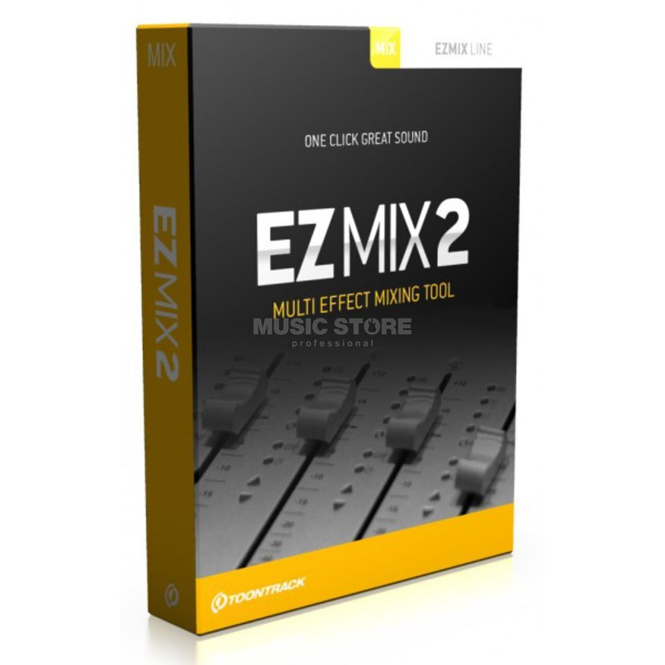 Toontrack EZMIX 2 Multi Effects Processing Software, Boxed Produktbillede