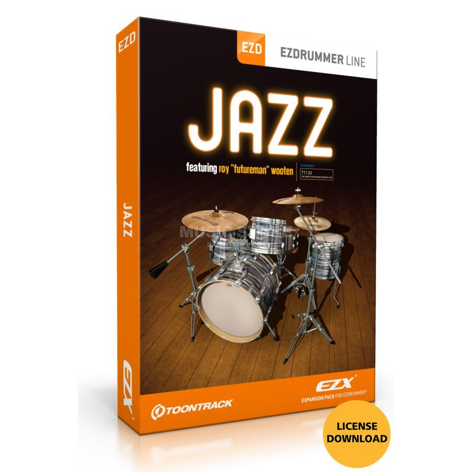 Toontrack EZX Jazz License Code Product Image