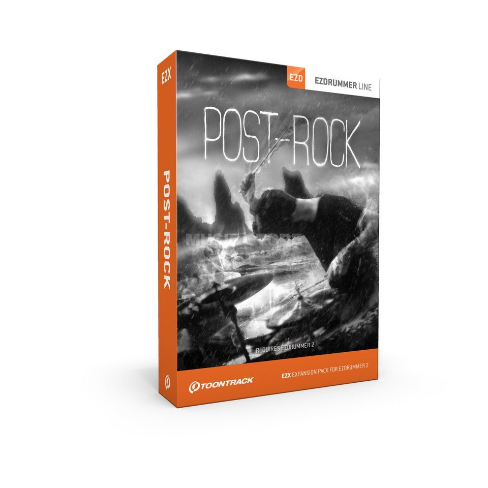 Toontrack EZX Post-Rock Sounds für EZ Drummer 2 Product Image