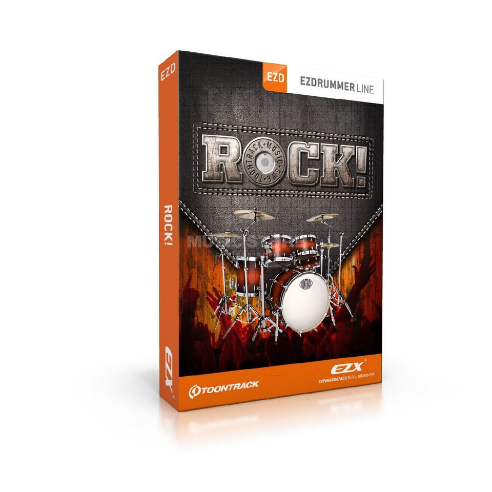 Toontrack EZx - Rock! Sounds for EZ Drummer DVD Produktbillede