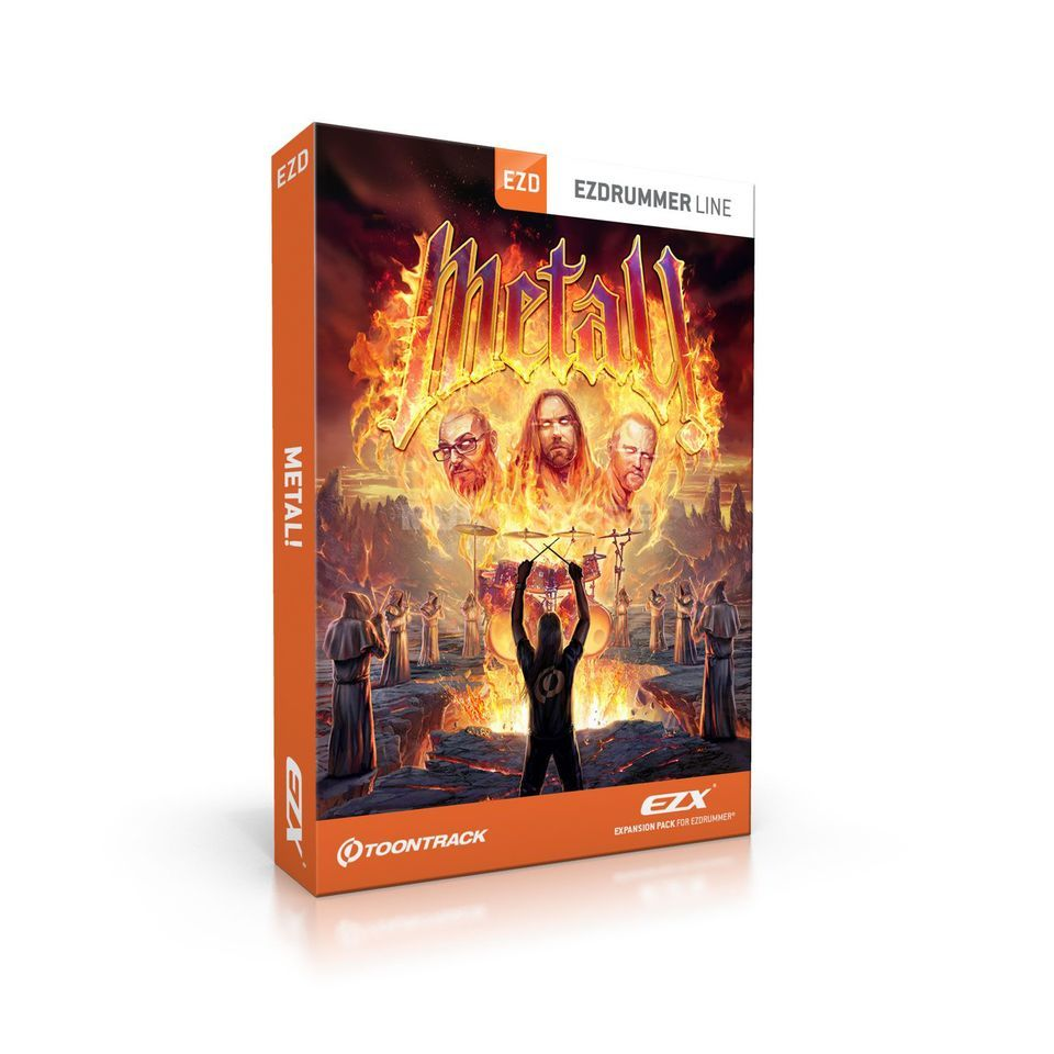 Toontrack EZXMetal! Sounds for EZ Drummer DVD Produktbillede