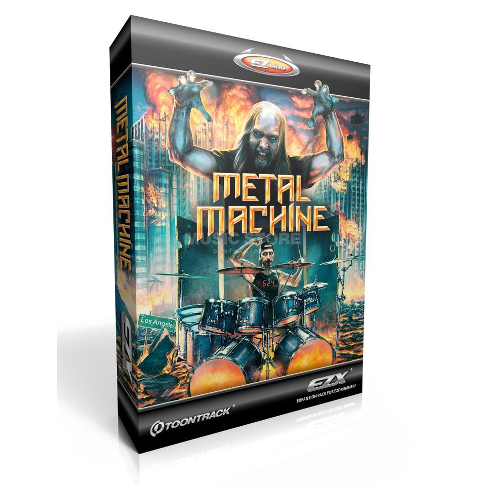 Toontrack Metal Machine EZX Expansion Pack Produktbillede