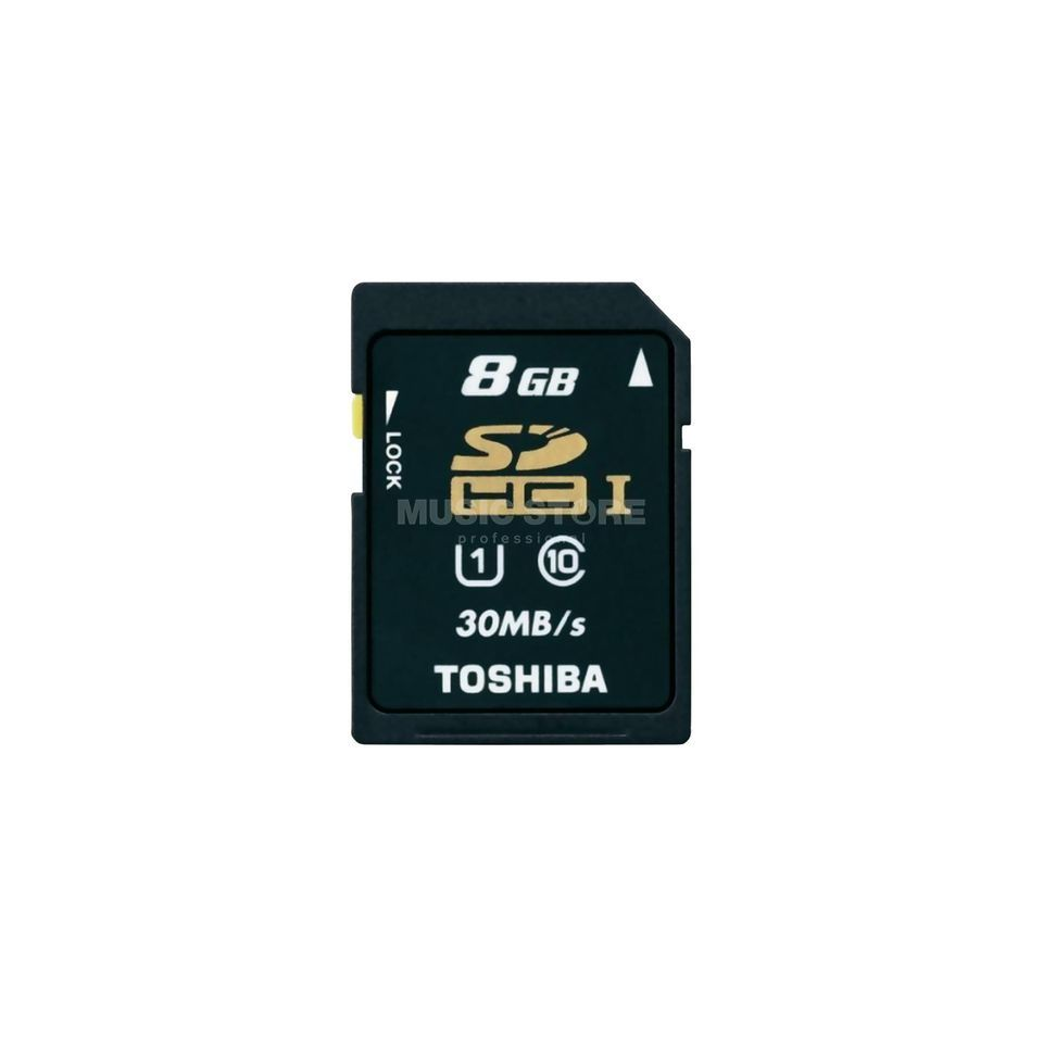 Toshiba 8GB SDHC Card CL10 für Card Recorder Produktbild