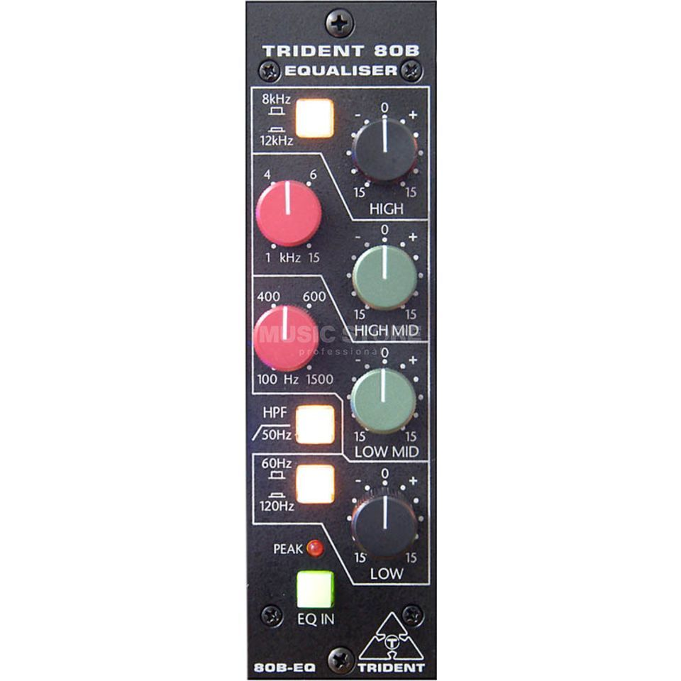 Trident Series 80B-500EQ 4-Band EQ in 500 Format Produktbillede