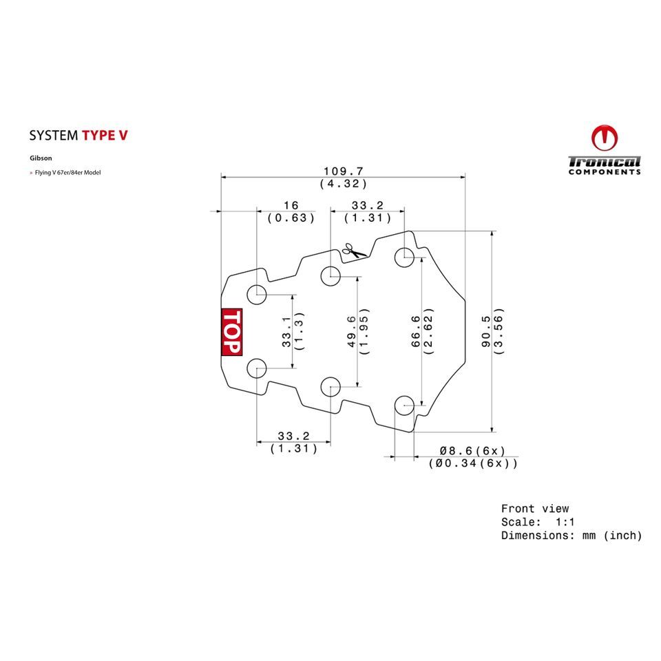 Tronical GmbH Tune System Type V  Produktbillede